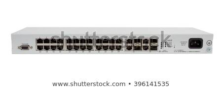 indistrial gigabit switch isolated Stock photo © artush