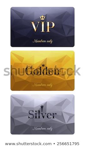 Stok fotoğraf: Farklı · dizayn · altın · gümüş · taç · örnek