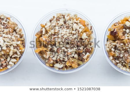 chia pudding with fruit Stock photo © M-studio