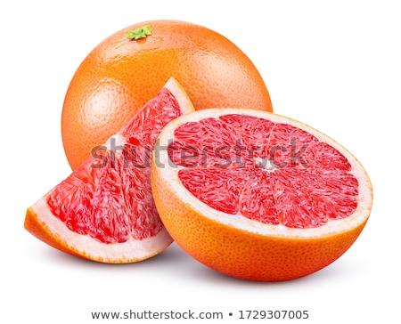 Taze greyfurt beyaz örnek gıda meyve Stok fotoğraf © bluering