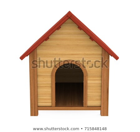 A wooden doghouse Stock photo © bluering