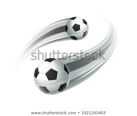 Football match motion blur Stock photo © joyr