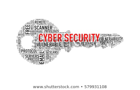 key shape wordcloud tag security stock photo © nasirkhan
