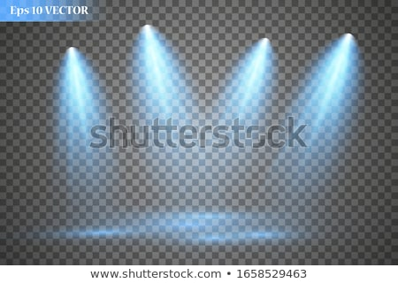 spot · luci · isolato · bianco · nero · elettrici - foto d'archivio © sarts