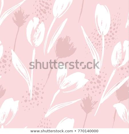 Rabisco estilo flores outro natureza Foto stock © balasoiu