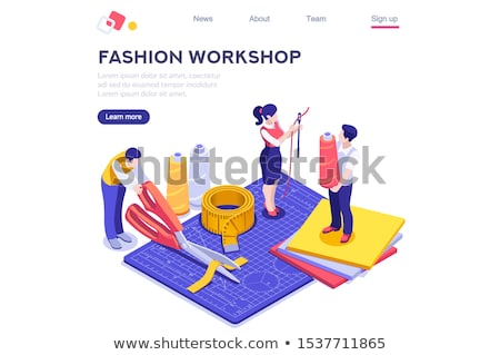 Fashion Industry concept. Stock photo © 72soul