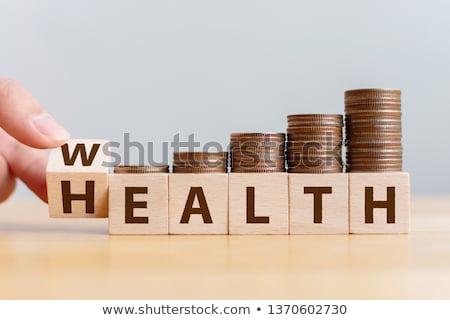 Health Is Wealth. Medical Concept. Stock photo © tashatuvango