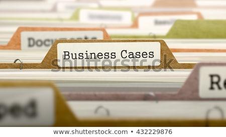 Cases - Folder Name in Directory. Stock photo © tashatuvango