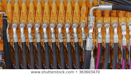 Hidrolik kutu ayarlamak çiftlik Stok fotoğraf © rghenry