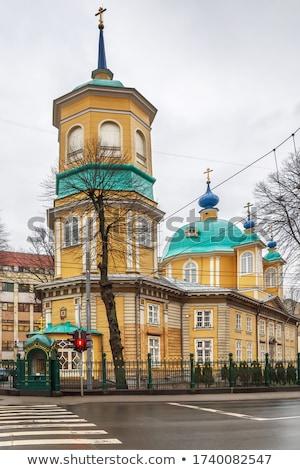 Riga ortodoks kilise bakire Letonya şehir Stok fotoğraf © benkrut