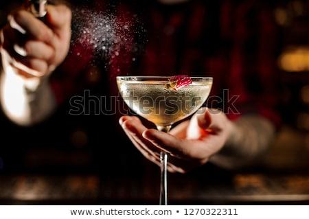 Bar tenro comida homem trabalhando trabalhador Foto stock © IS2