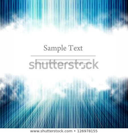 Glossy light effect on sample text template Stock photo © orson