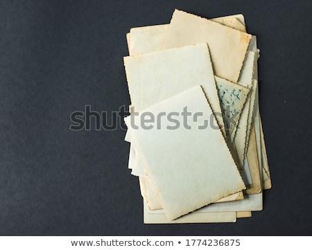 Books Stack and letter paper stock photo © devon