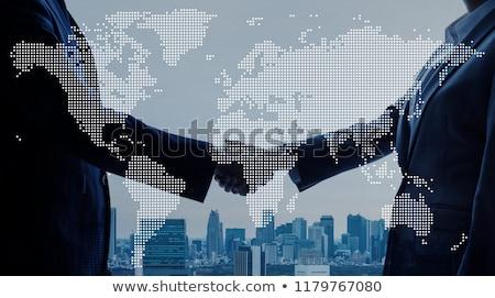 Asia Handel asian wirtschaftlichen Aktivität Stock foto © Lightsource