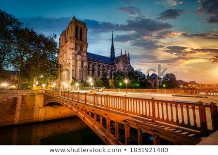 Ver dobrar passeio público Paris França Foto stock © Givaga