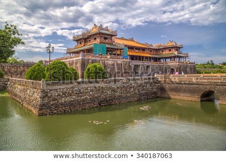 Vietnam, Hue. Imperial Royal Palace of forbidden city Stock photo © romitasromala