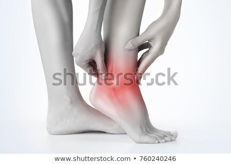 Ankle pain Stock photo © CsDeli