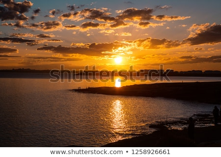 Sunset over Botany Bay Stock photo © lovleah