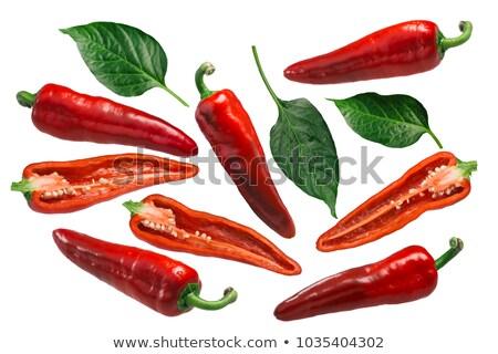 Dulce Italiano peppers, paths Stock photo © maxsol7