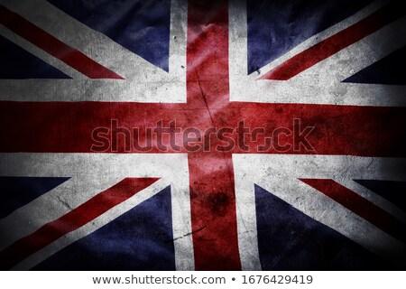 grunge · Egyesült · Királyság · zászló · Nagy-Britannia · brit · zászló - stock fotó © minervastock