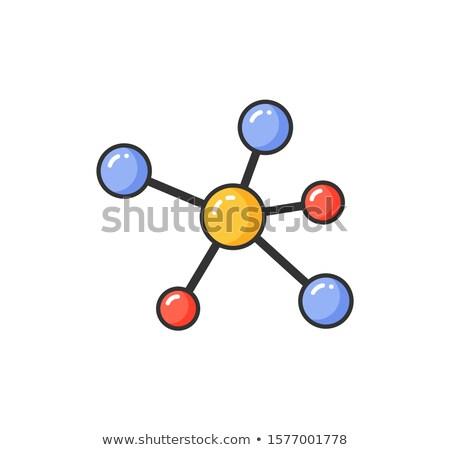 molekuláris · struktúra · gyermek · tudomány · csillag · teszt - stock fotó © robuart
