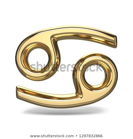 зодиак знак рак 3D Сток-фото © djmilic