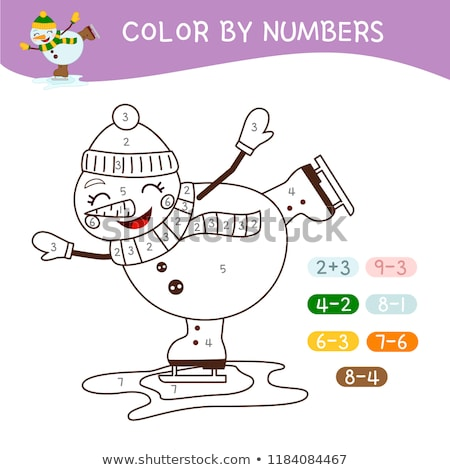 x is for educational game coloring book stock photo © izakowski