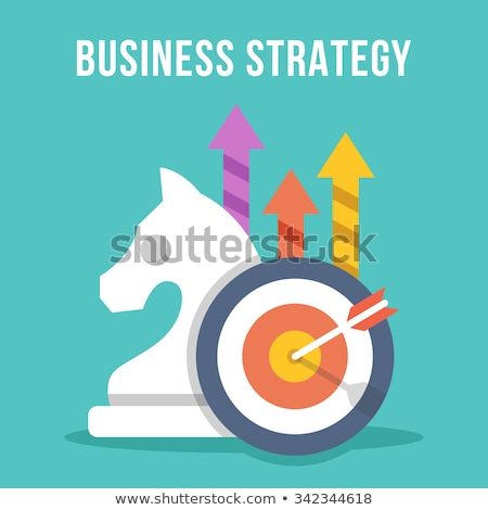 Business Strategy and Success of Businessman Set Stock photo © robuart