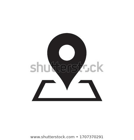 mappa · icona · business · tecnologia · segno · viaggio - foto d'archivio © kyryloff