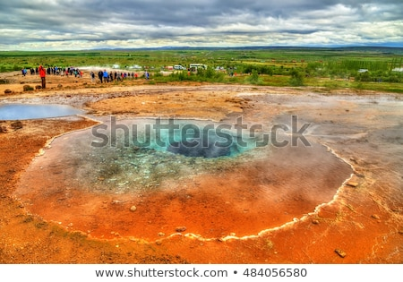 Valley of Geysers in Iceland Stock photo © Kotenko