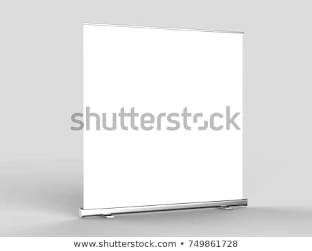 meeting presentation standee roll up banner stock photo © sarts