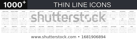 digitale · vector · lijn · pack · illustratie - stockfoto © smoki