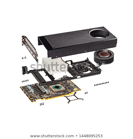 New reference modern gaming graphics card  Stock photo © grafvision