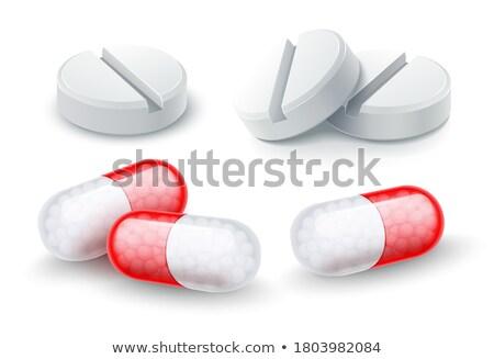 hastalık · ilaç · vektör · hastane · eczane · ayarlamak - stok fotoğraf © loopall