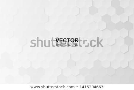 черный шестиугольник вектора иллюстрация текстуры свет Сток-фото © cidepix