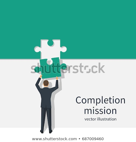 Implementing Business Solutions, Teamwork and Plan Stock photo © robuart