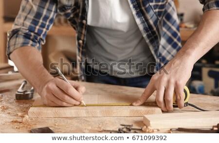 мужчины плотник древесины семинар промышленности Сток-фото © wavebreak_media