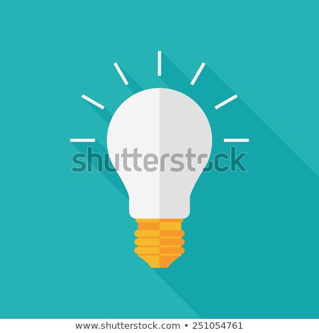 Electrical Glowing Incandescent Light Globe Vector Stock photo © pikepicture