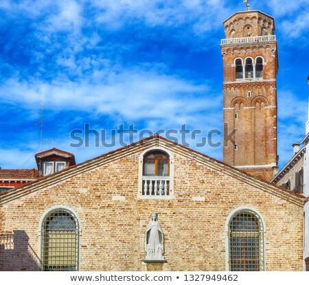 Fachada igreja Veneza Itália antigo edifício Foto stock © ShustrikS