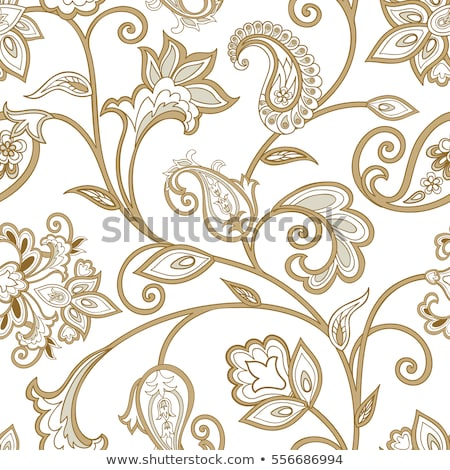Seamless vector pattern. Traditional asian ornamental motive. Seamless background from a oriental si Stock photo © sanyal