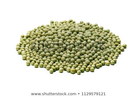 Inteiro verde ervilhas branco pacote vegetal Foto stock © bdspn