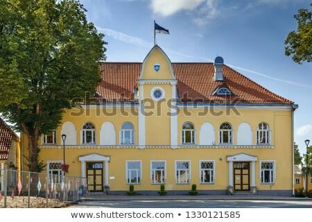 ратуша Эстония поздно арт нуво фасад основной Сток-фото © borisb17