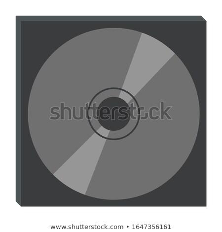 Garagem venda disco varejo vetor Foto stock © robuart