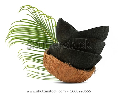 Coconut shells Stock photo © ldambies