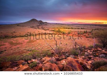 Outback Landscape Stock fotó © kwest