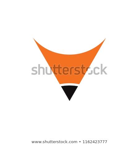 Ceruzák forma szín izolált fehér ceruza Stock fotó © poco_bw