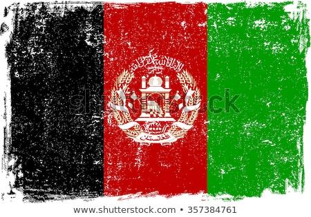 Afghan Grunge Flag Stock photo © HypnoCreative
