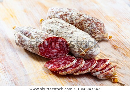 cutting board with italian culinary specialities stock photo © aladin66