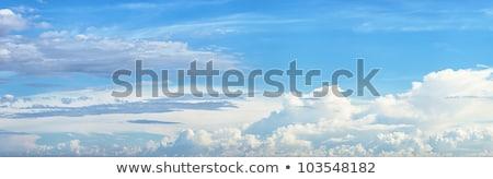 panorâmico · tiro · belo · nublado · céu · alto - foto stock © moses