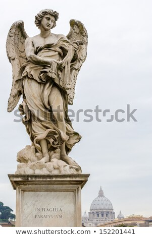 Ponte Sant'Angelo Bridge Statue  Stock photo © Kacpura